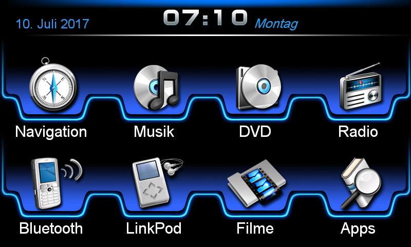 ESX Naviceiver VN710-LX-CT200H-DAB Lexus CT200h ab 2010 Bluetooth Navi