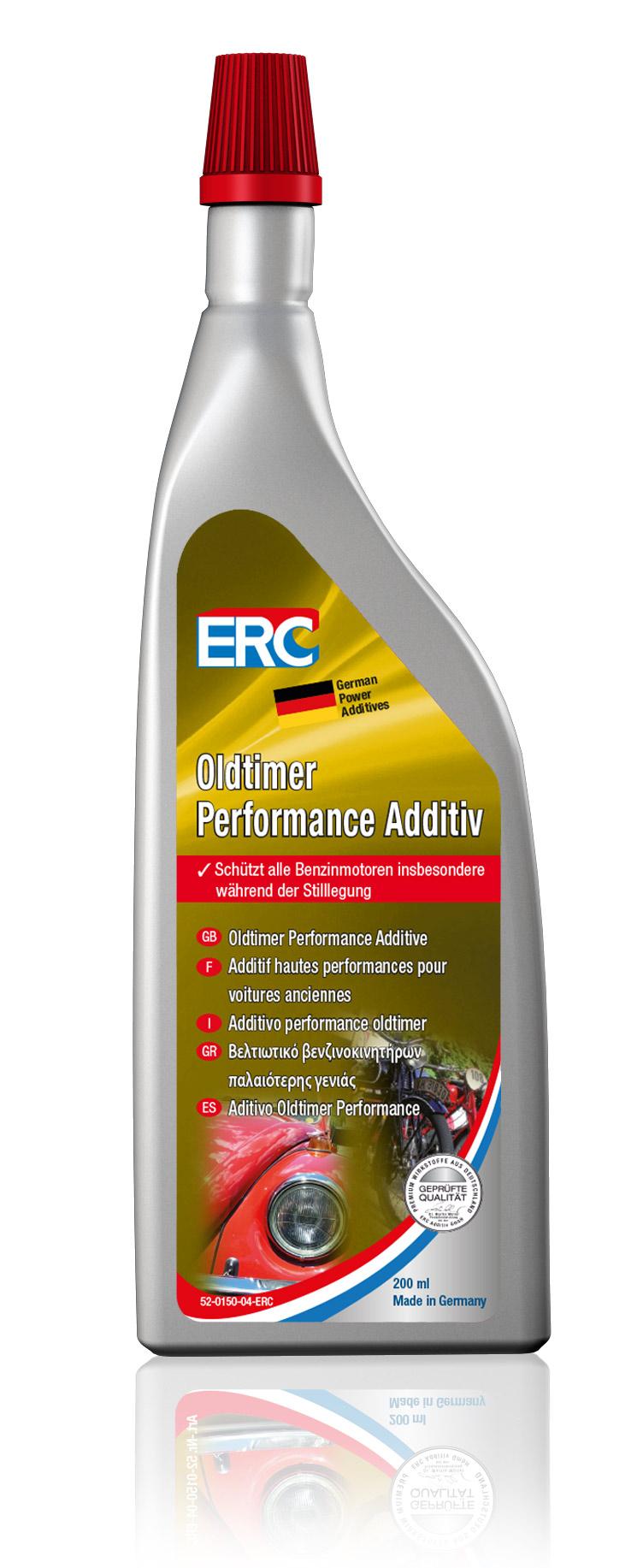 1 x 200 ml ERC Benzinzusatz Oldtimer Performance Additiv (Antikorrosion)