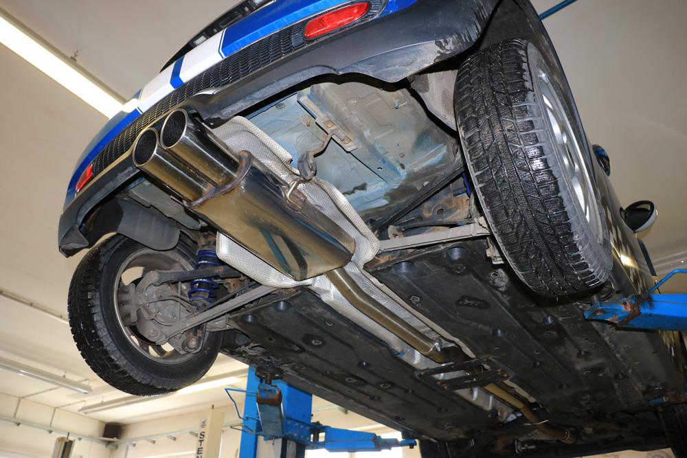 Fox Auspuff Sportauspuff Komplettanlage Mini Cooper S R56 1,6l 128kW