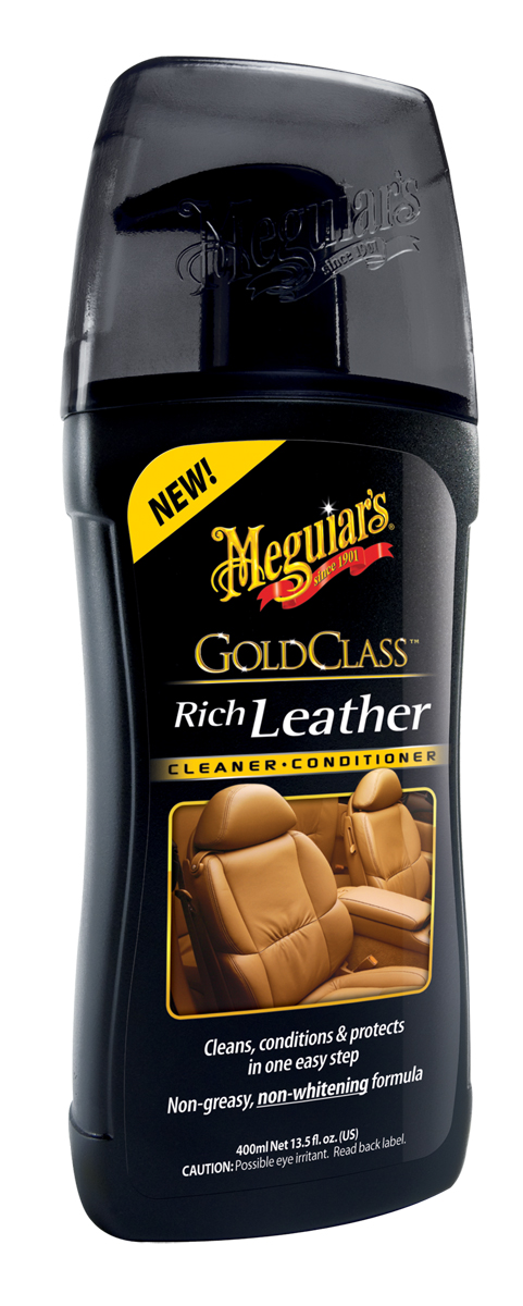 Meguiars Gold Class Leather Cleaner Conditioner Lederreinigung G17914EU 400ml