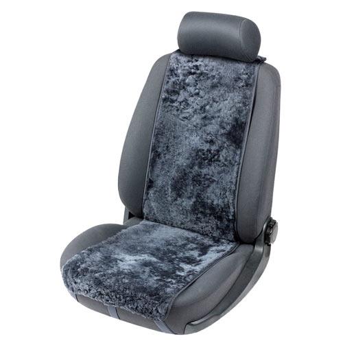 Lammfellbezug Auto Sitzbezug Sitzbezüge Lammfell  Auto Sitzaufleger anthrazit