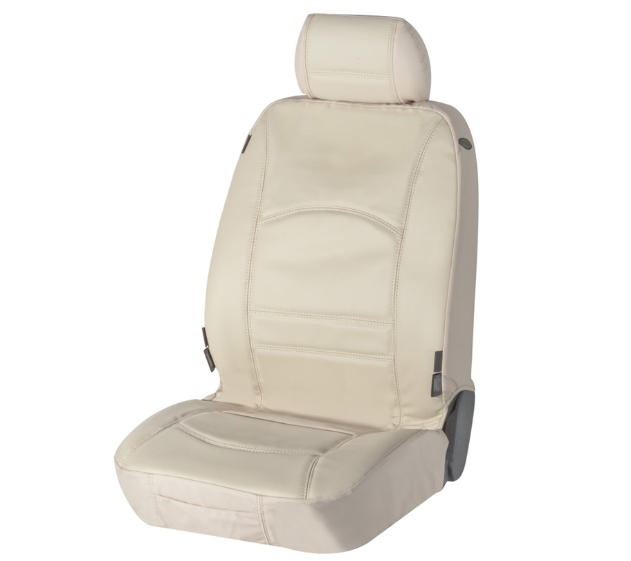 Sitzbezug Sitzbezüge Ranger aus echtem Leder beige Lancia Y