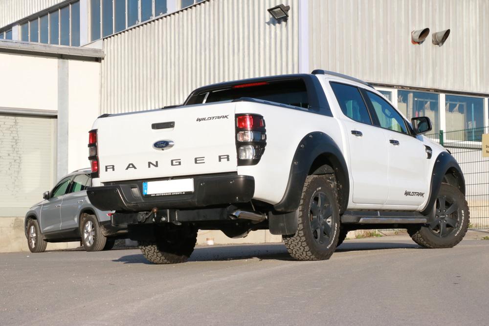 Fox Auspuff Sportauspuff Endschalldämpfer Ford Ranger Doppelkabine 4x4 3.2 147kW