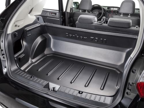 Carbox CLASSIC Kofferraumwanne Chevrolet Captiva für die ganze Ladefläche