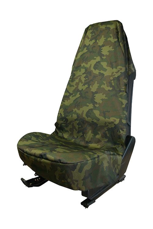 Werkstattschoner Schutzbezug Sitzschoner Sitzbezug Military Camouflage Airbag