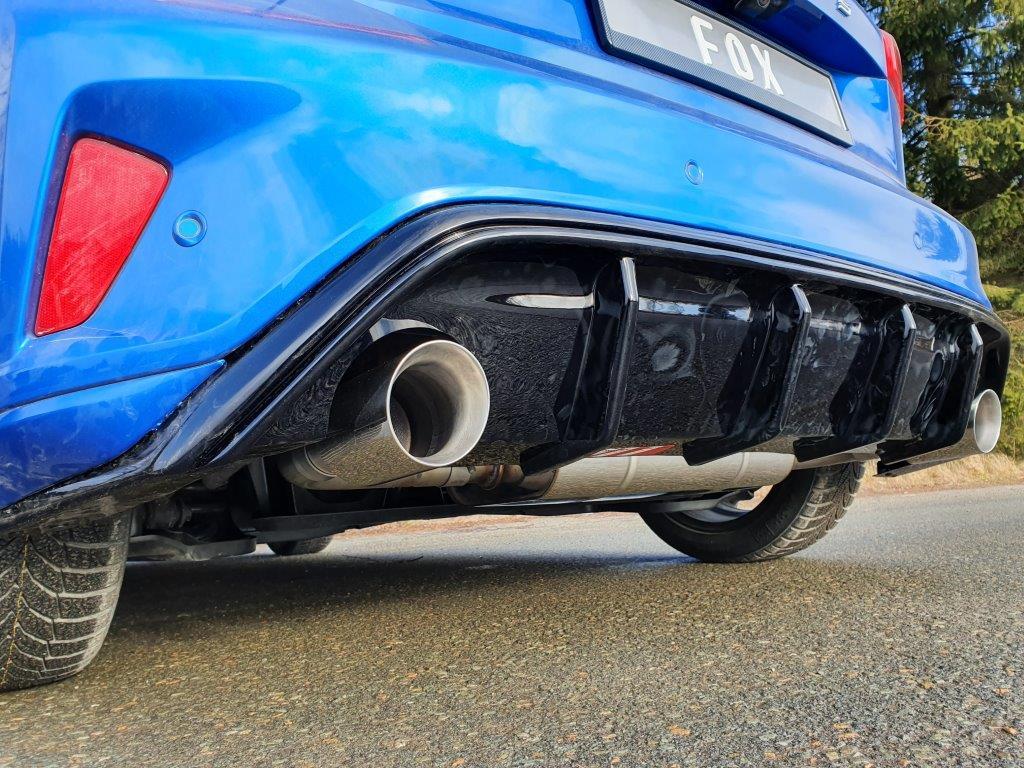 Fox Duplex Sportauspuff Endschalldämpfer Ford Focus IV ST-Line 1,5l 111/134kW