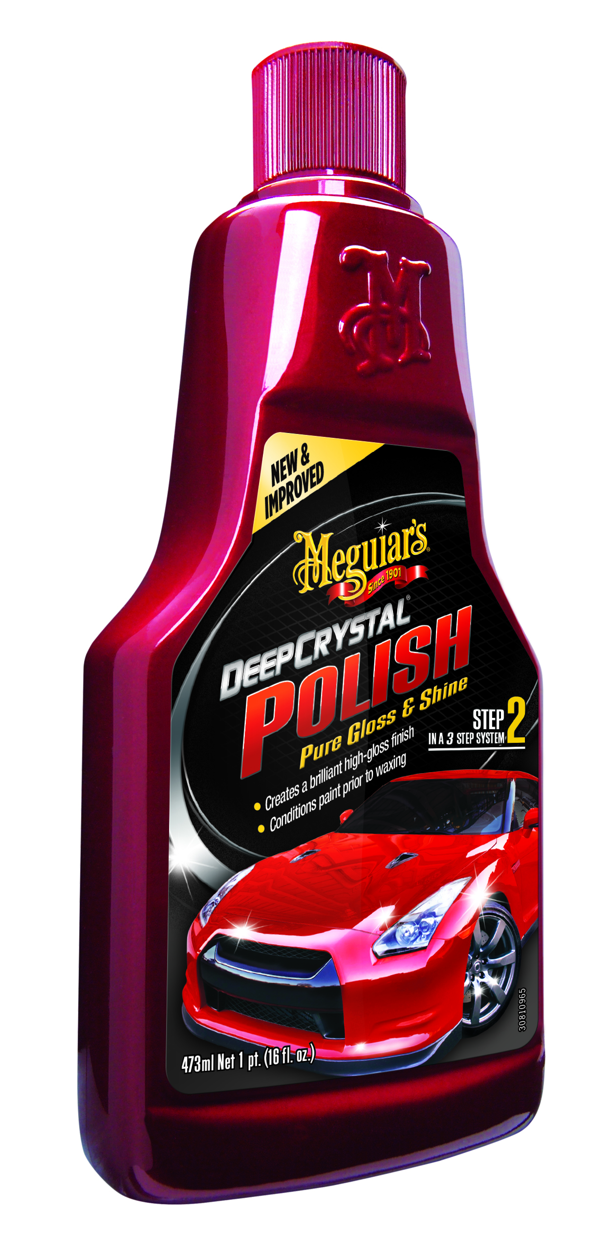 Meguiars Deep Crystal Polish Politur Autopflege Lackpolitur A3116EU 473ml