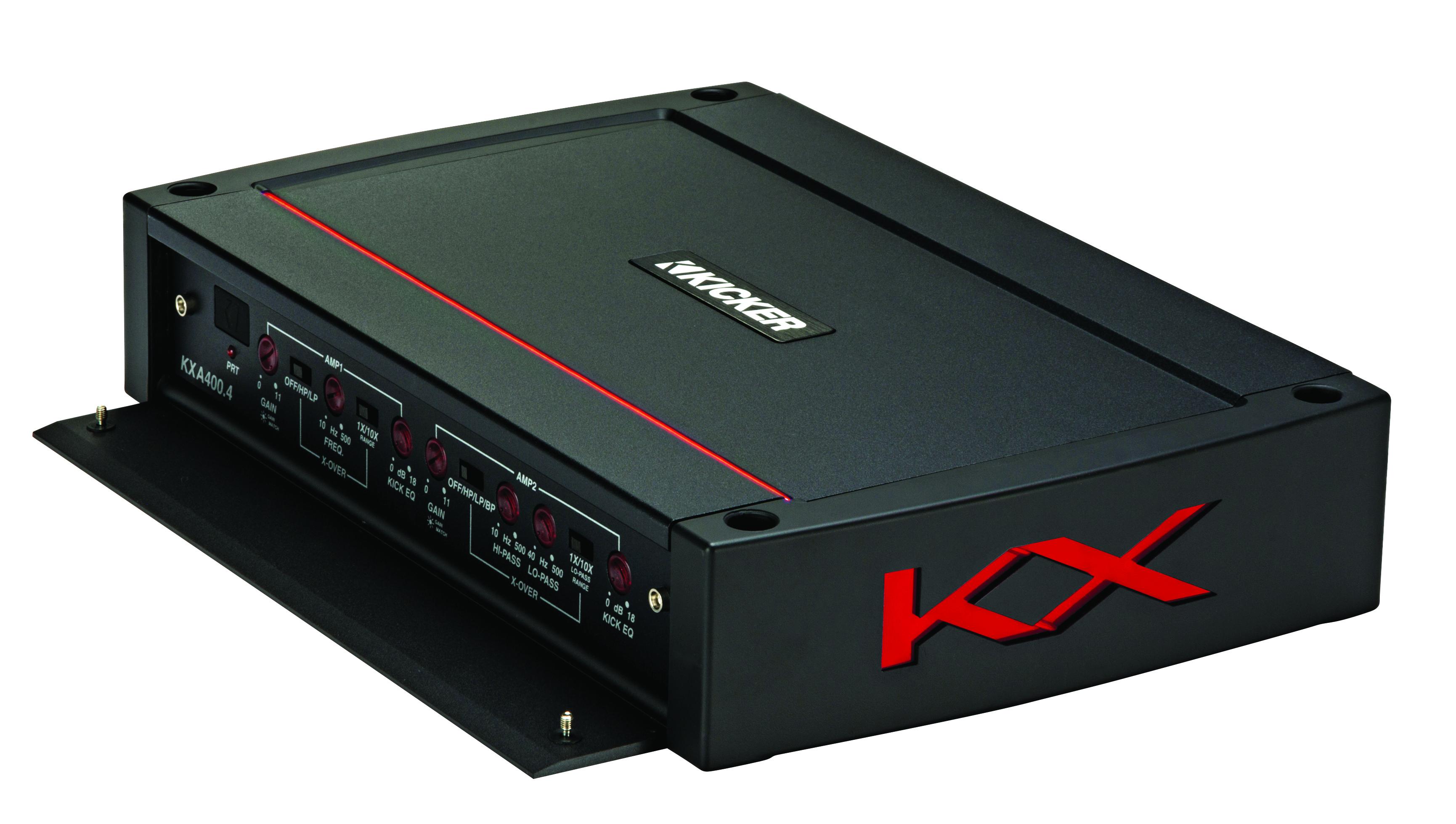 KICKER 4-Kanal Verstärker Digital Class D 4CH Amplifier KXA400.4