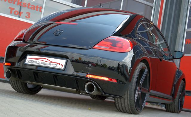 Friedrich Motorsport Duplex Auspuff Sportauspuff Endschalldämpfer VW Beetle 5C