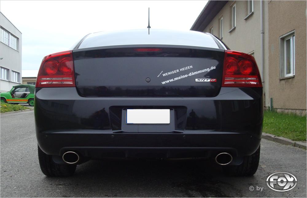 Fox Duplex Auspuff Sportauspuff Dodge Charger 6,1l SRT8 317kW Bj.09-