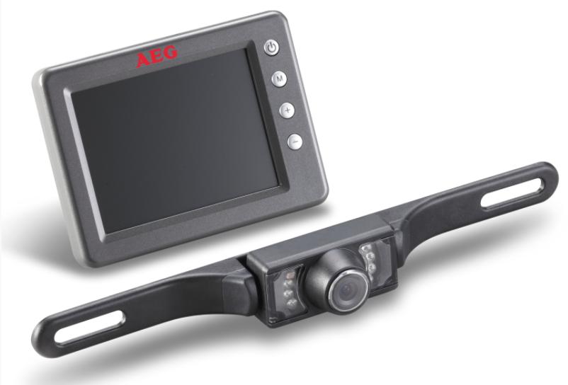 AEG Rückfahrkamera System RV 3.5 Funk Auto 97152 Kabellose 2,4 GHz Funk