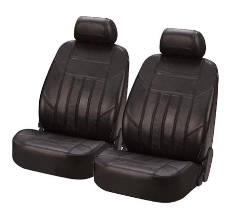 Sitzbezug Sitzbezüge Ledersitzbezug aus echtem Leder schwarz Seat Alhambra