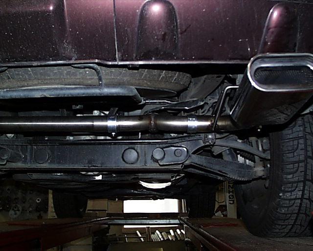 Fox Duplex Auspuff Sportauspuff Sportendschalldämpfer Mercedes M-Klasse Typ W163