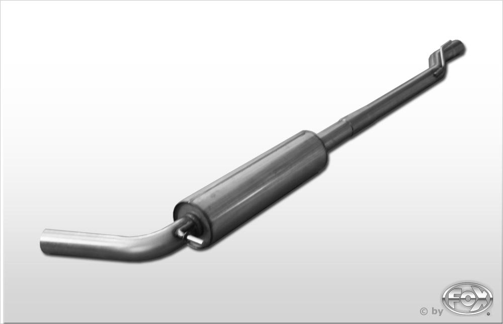 Fox Vorschalldämpfer Auspuff Sportauspuff Audi A1 1,2l 63kW 1,4l 90/136kW 1,6l