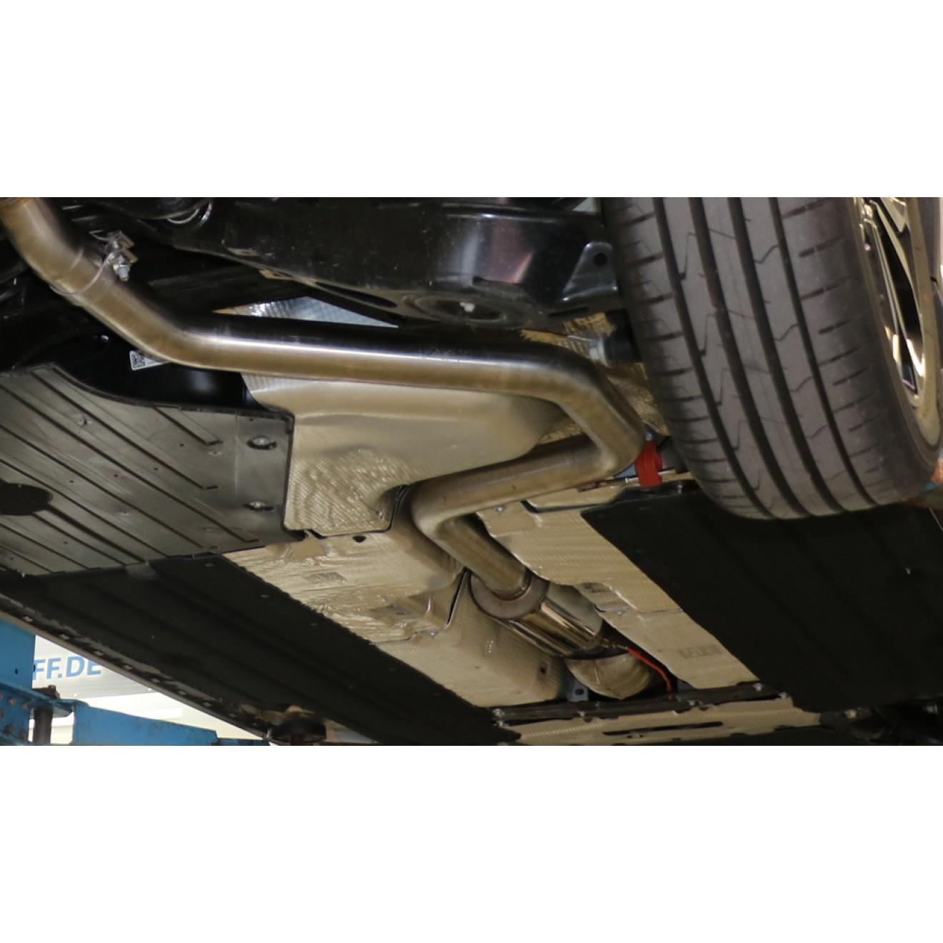 Fox Auspuff Vorschalldämpfer Schalldämpfer Ford Focus IV Kombi 1,5l 111/134kW