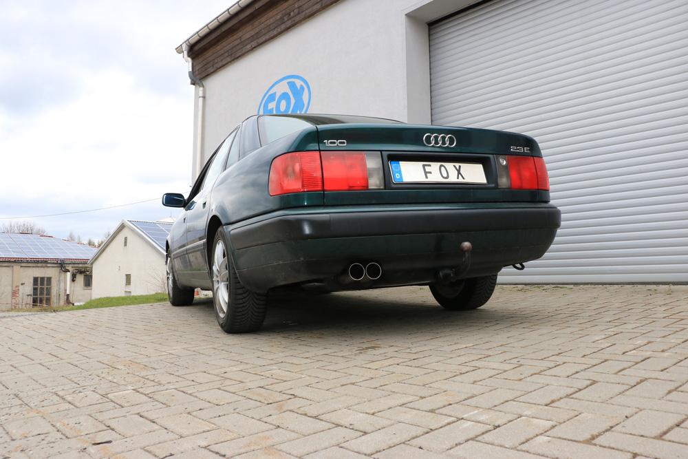 Fox Auspuff Sportauspuff Komplettanlage Audi 100/A6 C4 2,0l 74/85/103kW 2,3l