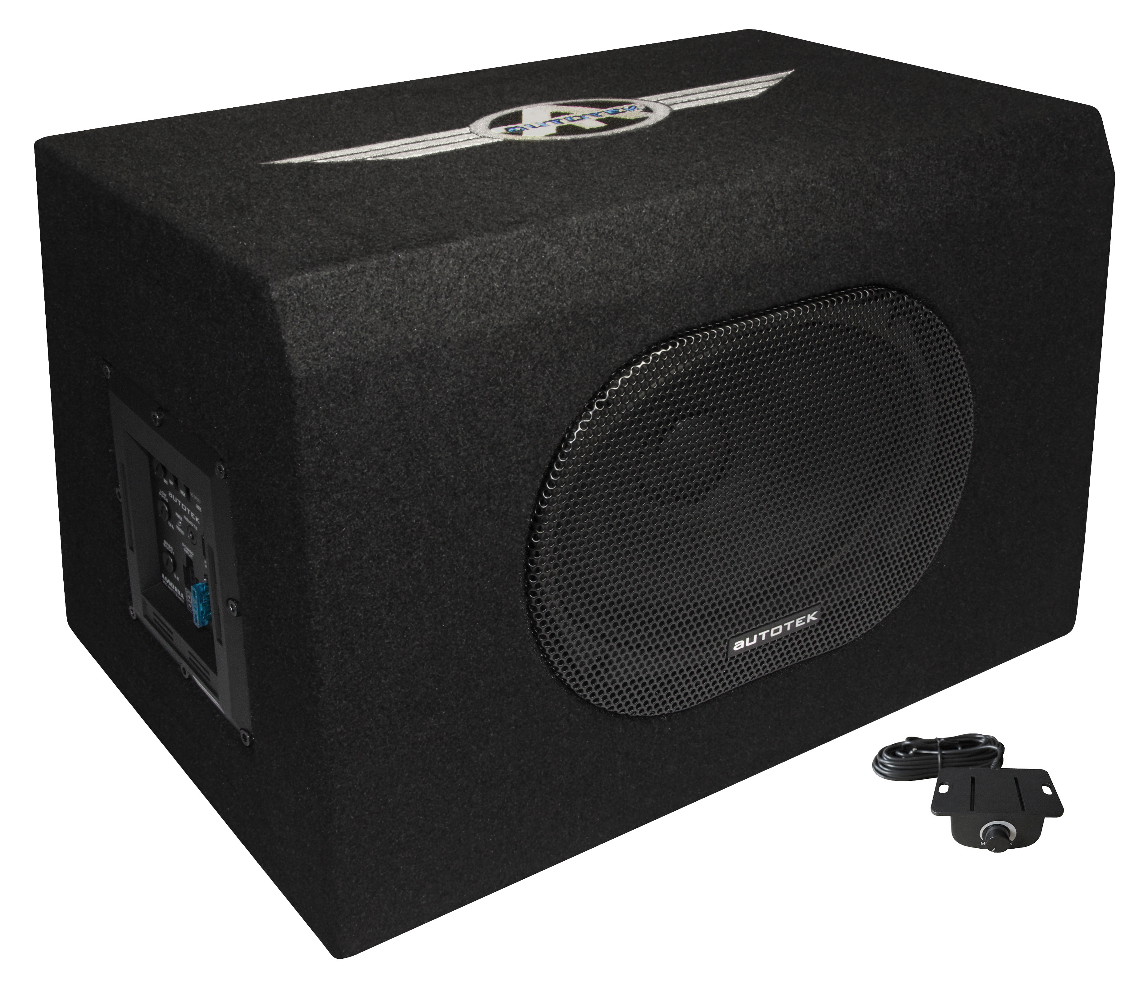 "AUTOTEK Aktiv-Subwoofer 6x9"" ACTIVE SINGLE VENTED BOX A690RXA"
